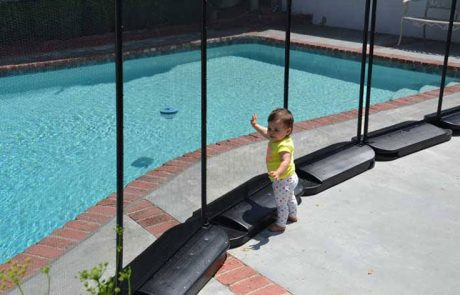 No Holes Pool Fence