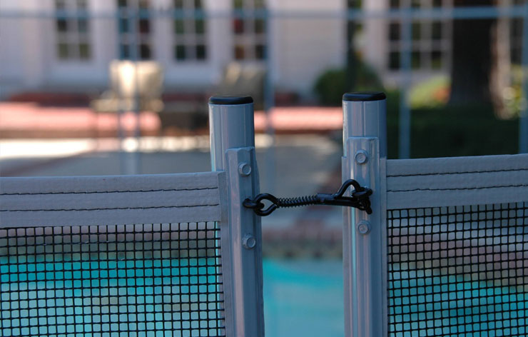 Pool Fence in Mesquite Nevada