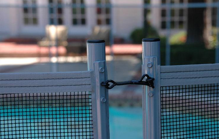 hook pool fence