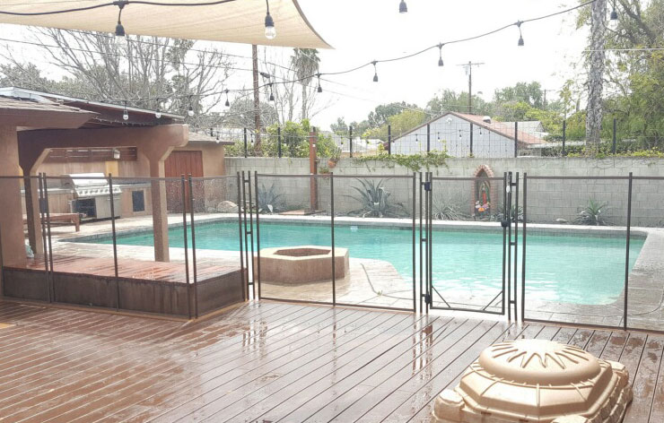 Deck Pool Fencee