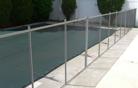 Silver Pool Fence