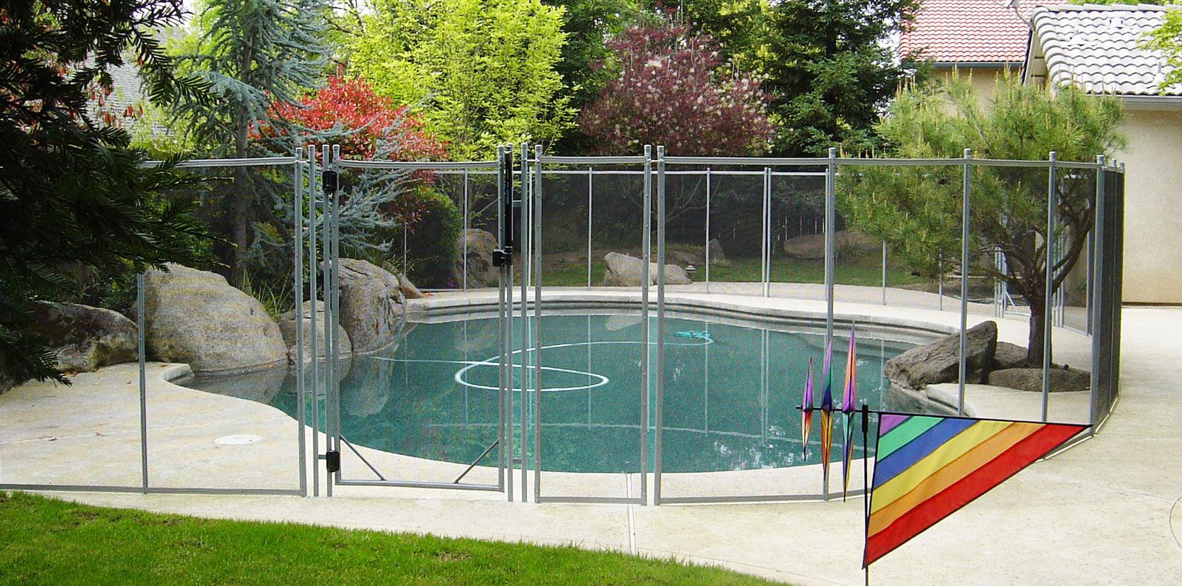 Cal Nev Ari Pool Fence