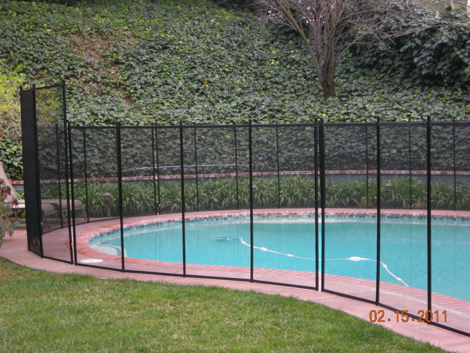 Pool Fence Blue Diamond