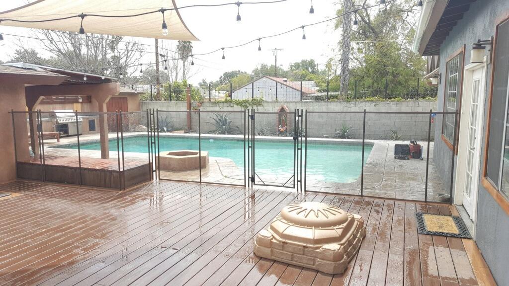 Laughlin NV pool fence