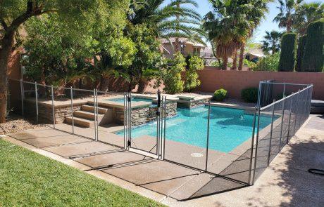 Pool Fence Vegas