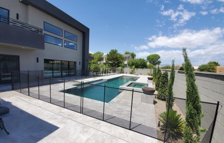 Pool fence summerlin